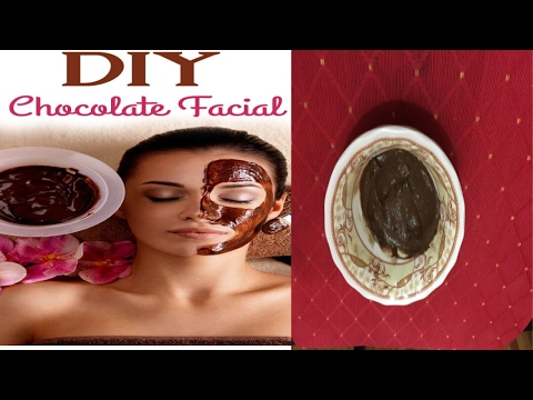 DIY Chocolate Facial Mask for glowing and blemish free skin