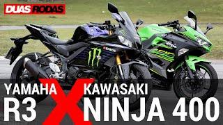 Download COMPARATIVO   YAMAHA R3 x KAWASAKI NINJA 400 Video
