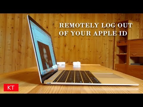 How to remotely log out of your apple id if your forgot to do so