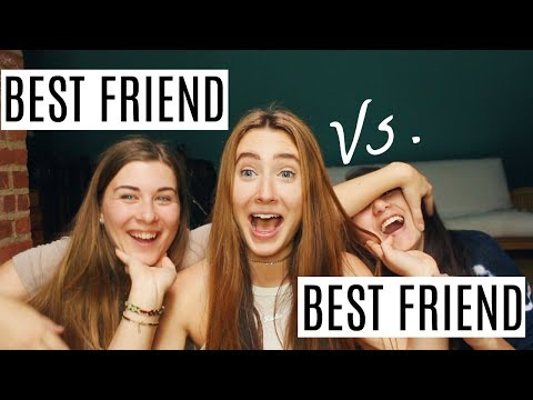 Best Friend VS. Best Friend Challenge | Kaela Kilfoil