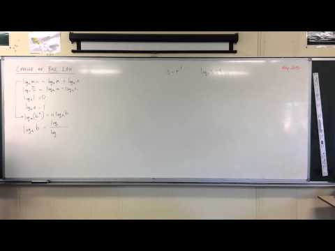 Logarithms / Change of Base (1 of 2: About Base 10)