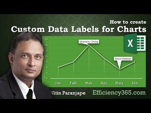 Excel Chart Format: How to create dynamic chart labels with Data Label Range and Callout