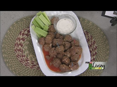 Spicy Buffalo-Style Meatballs