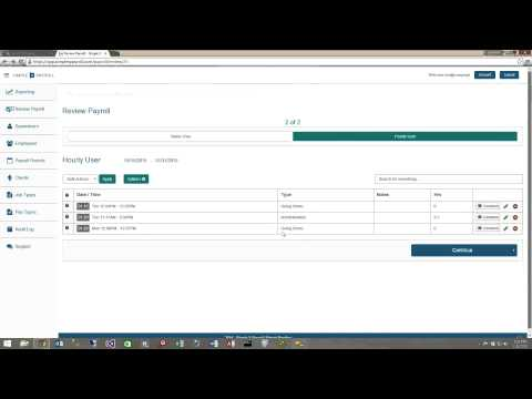 Review Payroll Tutorial