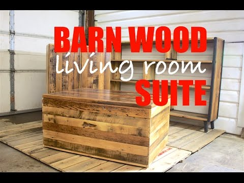 Reclaimed Barn Wood Living Room Suite