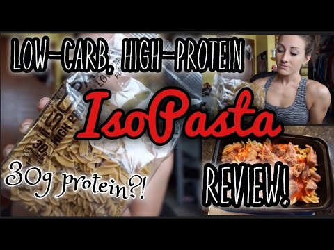 Pasta with 30g Protein?! // IsoPasta Review!