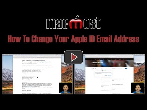 How To Change Your Apple ID Email Address (#1682)