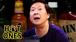 Download Ken Jeong Performs a Physical While Eating Spicy Wings | Hot Ones Video