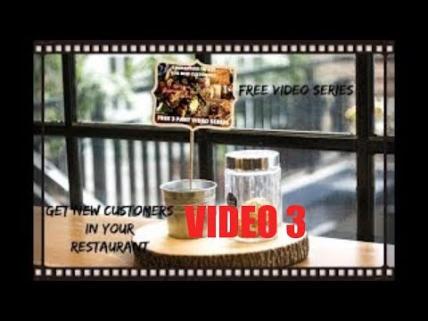 How To Increase Revenue In Your Restaurant Video Part 3