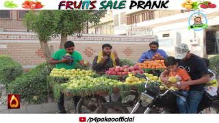 | FRUIT SALE PRANK | By Nadir Ali & Team In | P4 Pakao | 2018