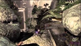"God of War 3  Kratos Walkthrough Clips ""Hand of GAIA"" By: Willard Elvin Estacio 1080p HD"