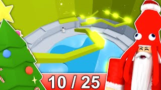 [10/25] CHRISTMAS STAGES in Tower of Hell... | Roblox