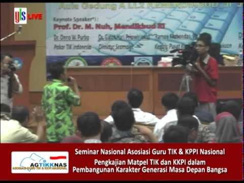 Seminar Nasional Asosiasi Guru TIK dan KKPI Nasional