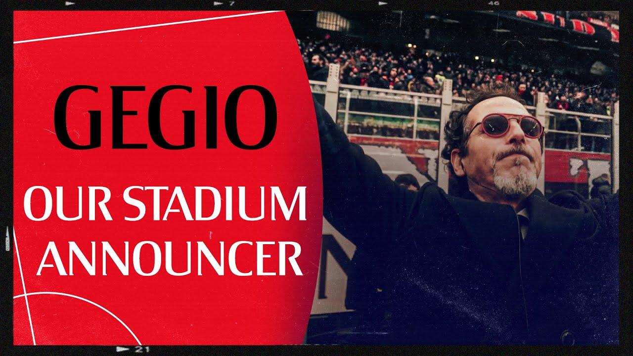 Behind the Scenes   Gegio, our stadium announcer