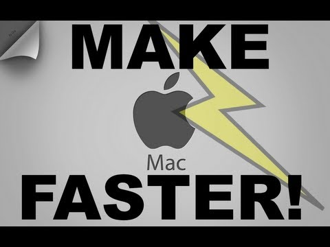 HOW TO MAKE YOUR MAC FASTER!!!