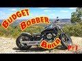 Yamaha XVS 650  - Budget Bobber Build  PT1