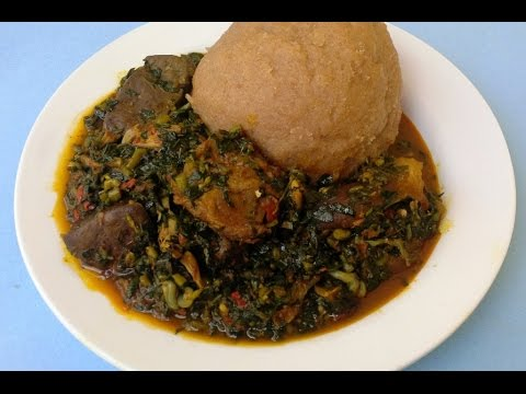 How To Make Nigeria Edikaikong Soup - The Rich Vegetable soup