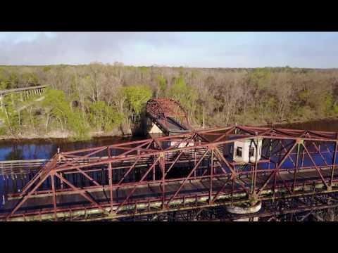 Abandoned Hwy 301 Turnstile Bridge