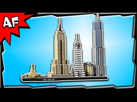 Lego Architecture New York City 21028 Stop Motion Build Review