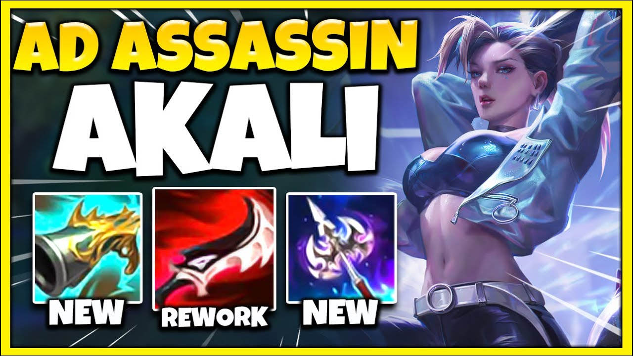 AD One-Shot Akali is BROKEN in Season 11!! One Auto = INSTANT DEATH - League of Legends