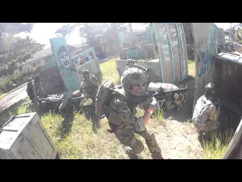 Fort Ord  Airsoft Action 2016 (California, USA)