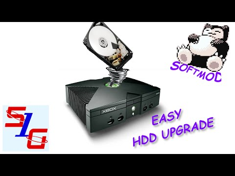 How To Upgrade HDD in SoftMod Xbox Easy 2018
