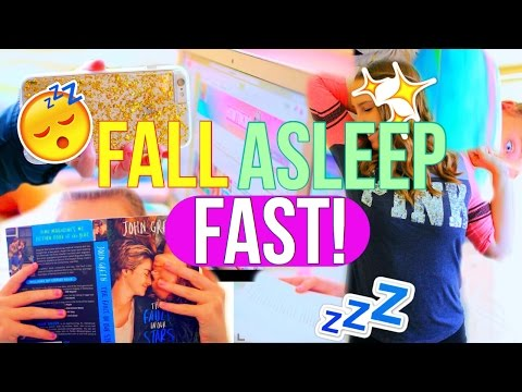 How to Fall Asleep FAST in 40 Seconds! | 10 Life Hacks For When You Can't Sleep!!
