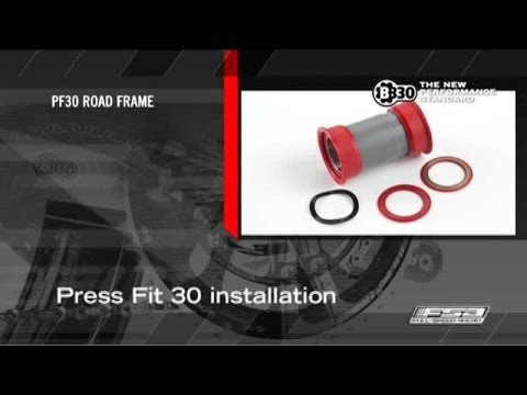 How To Install A BB30 Road Crankset On A Press Fit 30 Frame - FSA Road