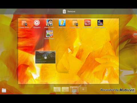 How to get widgets on Samsung Galaxy tab s