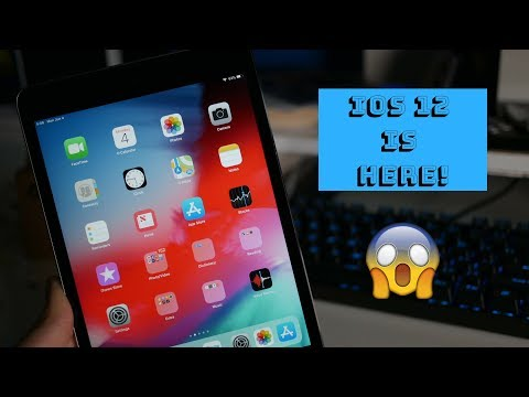 iOS 12 beta on iPad Mini 2! Hands On and First Impressions