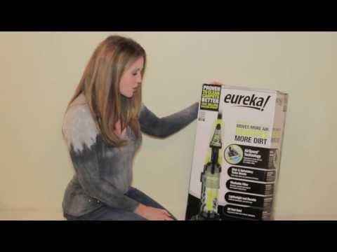 Eureka Air Speed One Vacuum Setup Guide