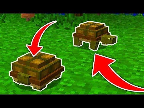 Minecraft : How To Get a Turtle  (Ps3/Xbox360/PS4/XboxOne/WiiU)