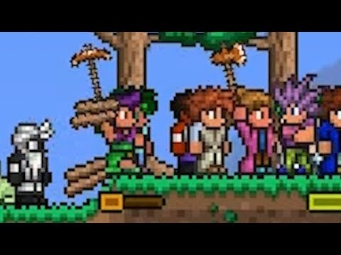 I tried to fill 255 Player Slots on a Terraria server