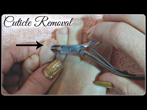 Pedicure Tutorial: Cut or Remove Cuticles Using Cuticle Nippers Without Cutting Someone