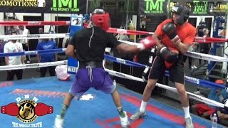 Download GYM WARS!! TMT'S MEMPHIS VS UNDEFEATED LAVISAS WILLIAMS SPARRING (DONTAESBOXINGNATION) Video