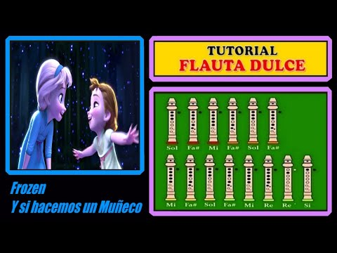Frozen - Do You Want to Build a Snowman? on Recorder (Tutorial)