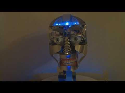 Robotic Animatronic Talking Head