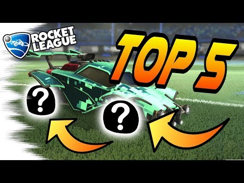 Rocket League Trading - TOP 5 BEST CHEAP WHEELS! Budget Car Build Tips (With/Without Mystery Decals)