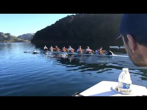 Cal Crew Slow Motion Rowing Clip