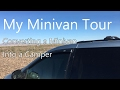 My Minivan Tour: Converting a Minivan Into a Camper - Van Life on the Road