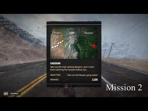 Road Redemption (Road rash) Gameplay Mission 2