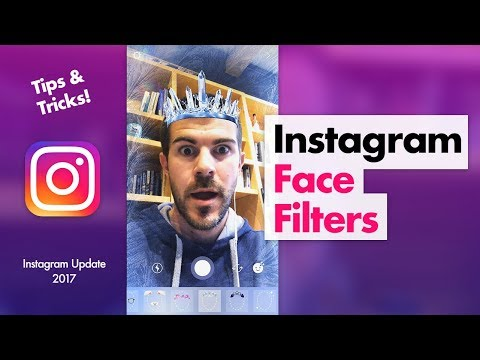 How to Use Instagram Face Filters