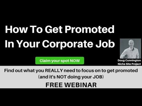 How to Get Promoted in Your Consulting or Corporate Job (and it's not actually doing your Job)