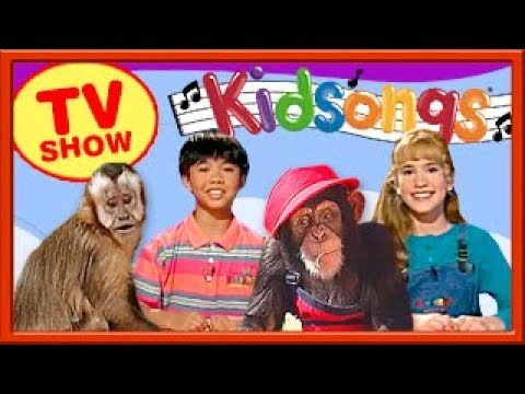 We Love Monkeys | Kidsongs TV Show | Five Little Monkeys | The Petting Zoo| Yes We Have No Bananas