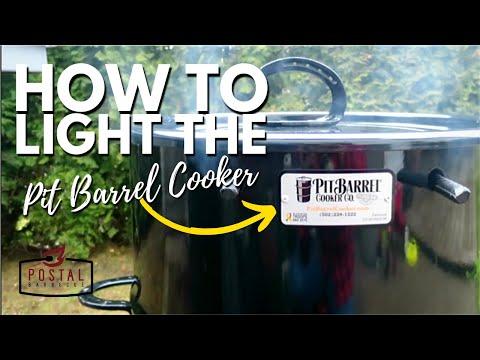 Pit Barrel Cooker Lighting - How to Light the Pit Barrel Cooker