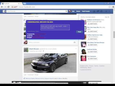 Auto Tag Facebook 2014 - MalaysiaCheats