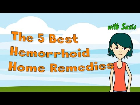 The 5 Best Hemorrhoid Home Remedies - How To Get Back On Your Feet In No Time