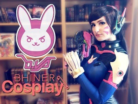 D.Va cosplay BHINER unboxing & overview   GrumpyCait