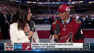 Joseph: No expectations during NHL Draft