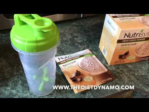 Nutrisystem Shakes -  What's the NutriCrush Turbo 10 Shake All About?
